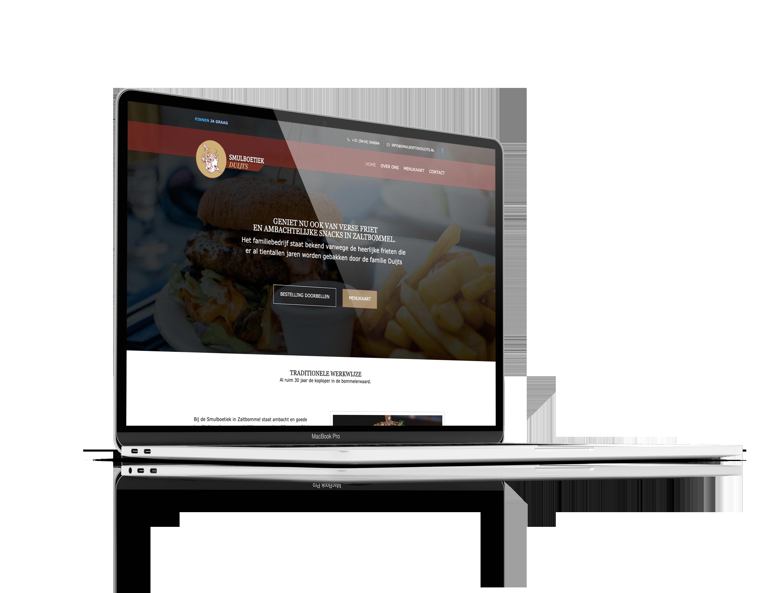 Computer versie Webdesign